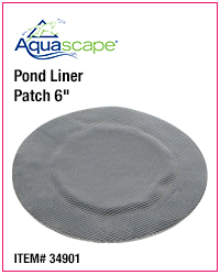 Pond Liner Patch 6inch