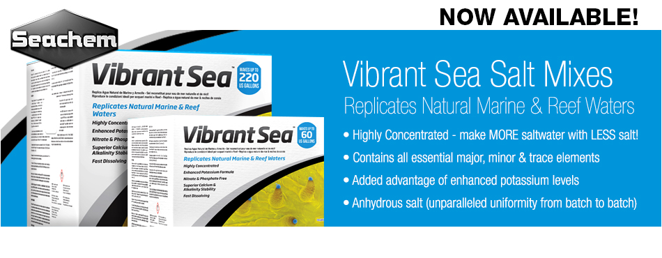 Seachem Vibrant Sea Salt Mix
